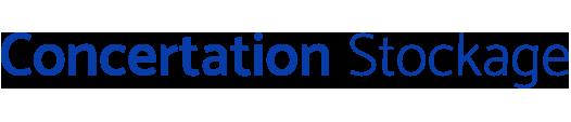 Concertation Stockage